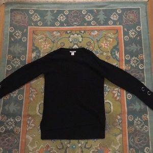 Bar III black sweater